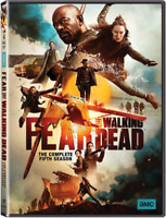 Fear The Walking Dead Season 5 (DVD Box Set,3-Disc,Region 1) NEW FREE SHIPPING