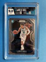LaMelo Ball RC Rookie Card 2020-21 Panini Prizm Basketball NBA HGA 9 9.5 ROY?