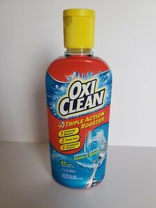 Oxi Clean Triple Action Booster Crystal Clear Dishwasher Rinse Drying Aid