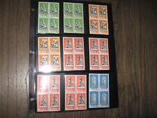 Switzerland  Special Stamps! 4er Blocks,  Swiss stamps