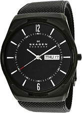 Skagen Men's Aktiv SKW6006 Black Stainless-Steel Quartz Fashion Watch