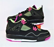 Nike Air Jordan Retro 4 IV 30th Anniversary GG Fucshisa Sz 7Y NEW 705344 027
