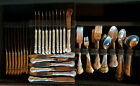Towle French Provincial Sterling Silver Flatware - 113 piece set - 2937 grams tw