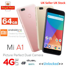 Xiaomi Mi A1 64GB LTE Dual Sim Unlocked Smartphone Google Mobile Android One UK