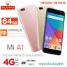 Xiaomi Mi A1 64GB LTE Dual Sim Unlocked Smartphone Google Mobile Android One UK