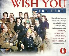 WISH YOU WERE HERE - 6 CD BOX SET - VERA LYNN ARTHUR ASKEY & MANY MORE - WWII
