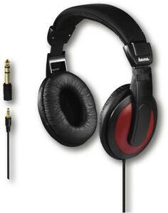 Hama Over Ear Stereo Kopfhörer HiFi Basic4Music Kopfhörer 2M Kabel 184012 Klinke