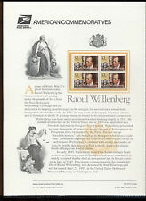 #3135 32c R  Wallenberg USPS #510 Commemorative Panel