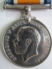 Canada WW1 British War Medal - Cpl. W. Kemp 132nd Canadian Infantry Battalion