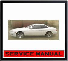 Toyota Soarer Z30 Series 1992-2000 SERVICE REPAIR MANUAL IN DVD
