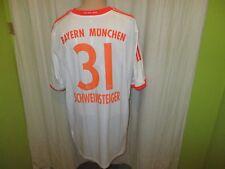 FC Bayern München Adidas Auswärts Trikot 2012/13 + Nr.31 Schweinsteiger Gr.XXXL