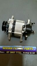 Nissan Patrol GQ TD42 Alternator 90amp with Vacuum Pump
