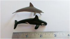 Miniature Toy Dolphins and/or Orca Whales Flexible Small, Lot of 200, Bulk Toys