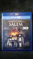 A Haunting in Salem [Blu-ray 2D & 3D] DISC ONLY NO CASE NO ART UNUSED CONDITION