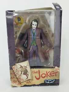 "THE JOKER Batman The Dark Knight Action Figure 7"" NECA Heath Ledger"