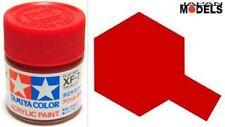 Acrylic Paint - Colore Acrilico Vernice 10ml XF-7 XF7 FLAT RED 81707 Tamiya