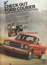 Ford Courier Truck 1981 Magazine Advert #1265