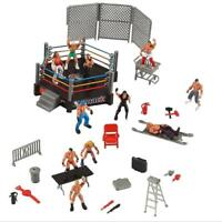 Wrestlers Wrestling Ring Action Figures Smack Down Royal Rumble Action Sport