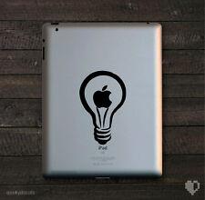 Apple Light Bulb iPad Decal / iPad Sticker