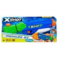 ZURU X-Shot Pressure Jet Water Blaster,blue, green and orange in color