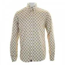 Cotton Pretty Green Regular Casual Shirts & Tops for Men