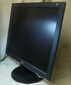 """19"""" LG Flatron L1960TR LCD Monitor Complete With Genuine Power Lead"""