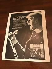 1978 Vintage 8X11 B&W Print Ad Judas Priest Stained Class A Screaming Sermon