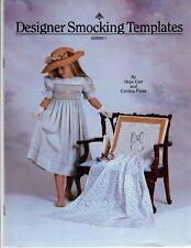 DESIGNER SMOCKING TEMPLATES Illustrated Instructions/ Trace Pattern Multi Sizes