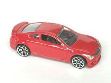 Hot Wheels 2010 Infiniti G37 red