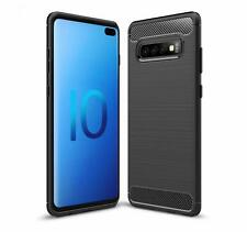 For Samsung Galaxy S10 5G Case Carbon Fibre Gel Cover Ultra Slim Shockproof