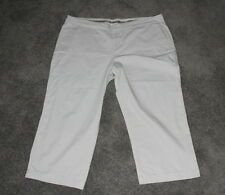 3dc1452c3a6 Womens size 18 beige stretch cropped pants made by TARGET