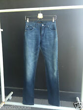 "Nudie Jeans Thin Finn ""Indigo on black"" W27 L32"
