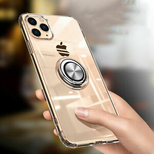 For Apple iPhone 11 Pro Magnetic Ring Holder Anti-burst King Kong Armour 360Case
