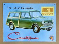 Austin Seven Countryman - Tin Metal Wall Sign