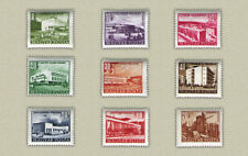 HUNGARY 1953. BUILDINGS NICE COMPLETE SET (size: 21.8x18 mm) MNH (**)