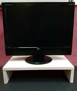 RIALZO TV LEGNO ABETE GREZZO 20mm