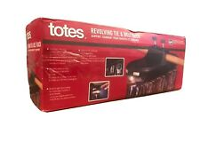 New Totes Revolving Tie And Belt Rack Holds 64 With Light