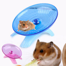 Running Disc Flying Saucer Exercise Wheel Fit for Mice & Dwarf Hamsters Pets