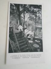 CONNECTICUT, The Silvermine Tavern, Silvermine, Norwalk Dining Terraces  §A2202