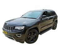 Black Side Step Bar Running Board for Jeep Grand Cherokee WK 2010-20