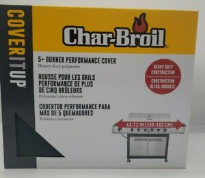 Char-Broil 5+ Burner Performance Grill Cover-New