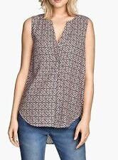 H&M Blouse V Neck Tops & Shirts for Women