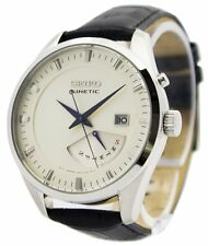 Seiko Kinetic Leather Strap SRN071 SRN071P1 SRN071P Mens Watch
