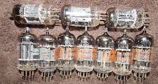 10 AWESOME 12AX7 / ECC83 / 7025 / 12AX7A TUBES NOS RCA TUNGSOL & EICO MULLARD