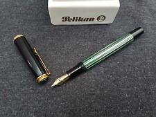 PELIKAN M400 Flex Kolbenfüller grün-schwarz gestreift 14ct./585 Vintage