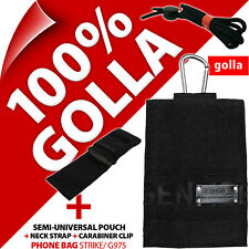 Golla Black Phone Case Pouch Bag for iPhone 3GS 4 4S 5 SE 5S Samsung Galaxy S2