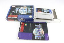 Snes Super Nintendo Illusion Of Time Pal Video Game Boxed