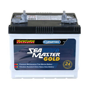 NEW SUPERCHARGE MARINE BATTERY 12V575CCA MFM48