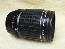 Pentax Takumar 135mm f2.5 Prime Telephoto Lens  PK Mount    Excellent Condition
