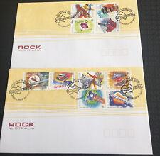 Australia  fdc 2001 Rock Australia